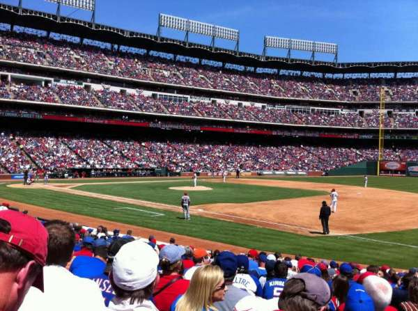 Globe Life Park in Arlington, section: 36, row: 14, seat: 11
