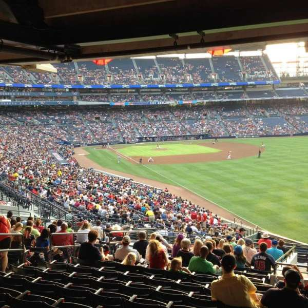 Turner Field, section: 229R, row: 17, seat: 6