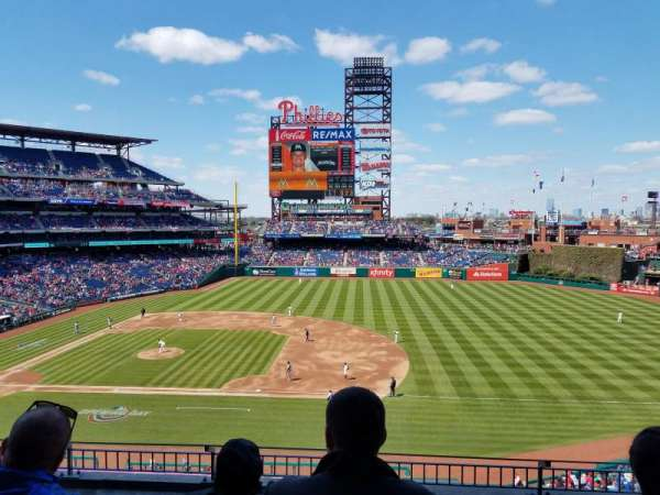 Citizens Bank Park, section: 214, row: 5, seat: 8