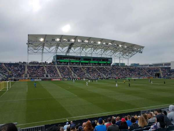 Talen Energy Stadium, section: 132, row: N, seat: 16