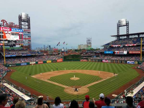 Citizens Bank Park, section: 222, row: 6, seat: 16