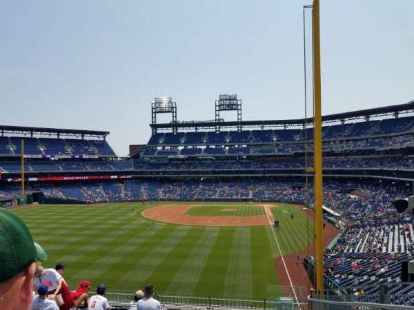 Citizens Bank Park, section: 241, row: 10, seat: 1