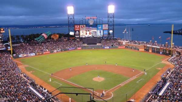 Oracle Park, section: VR315, row: 5, seat: 19