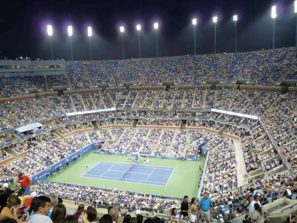 Arthur Ashe Stadium, section: 314, row: N