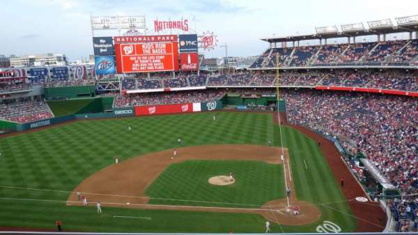 Nationals Park, section: 310, row: C, seat: 19