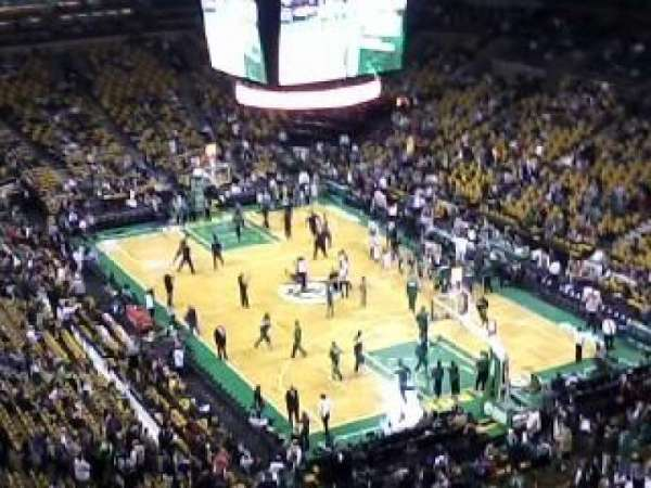 TD Garden, section: Bal 311, row: 11, seat: 9