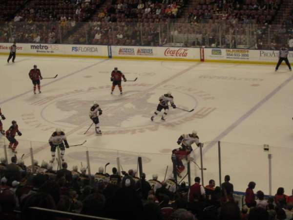 BB&T Center, section: 133, row: 27, seat: 1