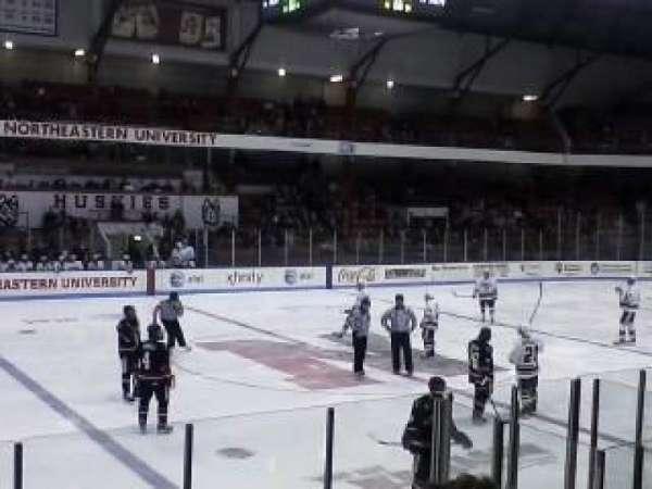 Matthews Arena, section: 10, row: E, seat: 12