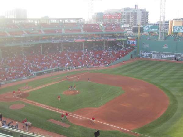 Fenway Park, section: Pavilion Box 11, row: B, seat: 5