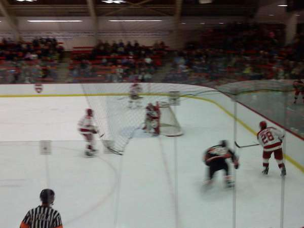 Bright-Landry Hockey Center, section: 1, row: H, seat: 14