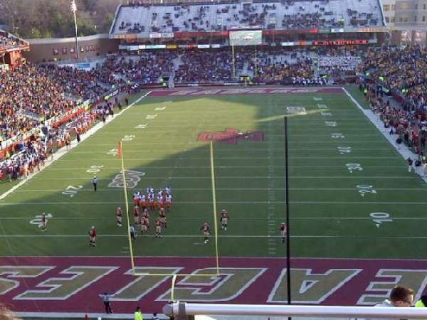 Alumni Stadium, section: XX, row: 11, seat: 15