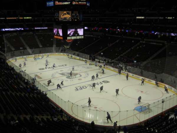 Pepsi Center, section: 331, row: 1, seat: 6