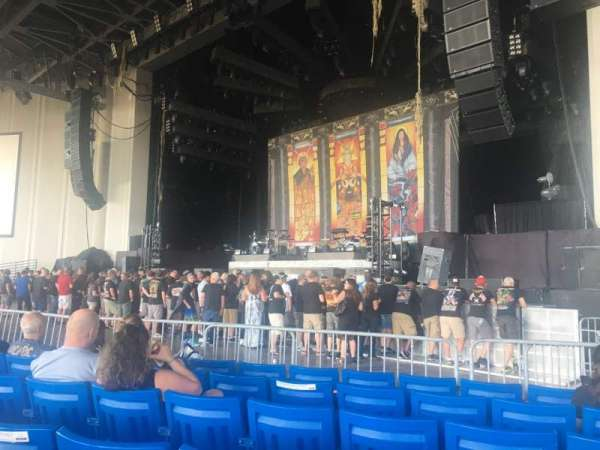 PNC Music Pavilion, section: 1, row: N, seat: 20