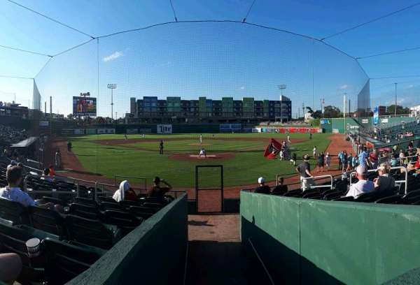 Cooley Law School Stadium, section: H, row: 13, seat: 8