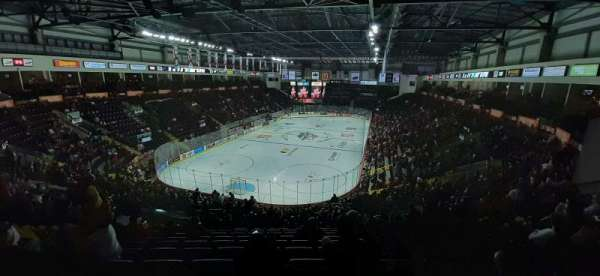 WFCU Centre, section: 108, row: X, seat: 15