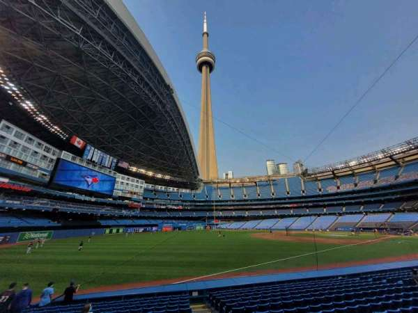 Rogers Centre, section: 130CL, row: 16, seat: 102