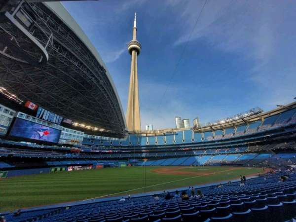 Rogers Centre, section: 130CR, row: 25, seat: 7