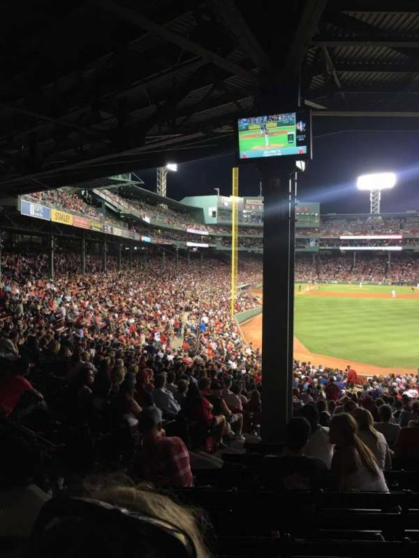 Fenway Park, section: Grandstand 2