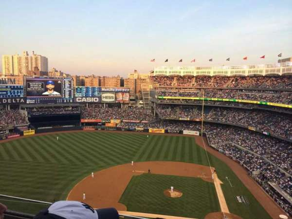 Yankee Stadium, section: 422