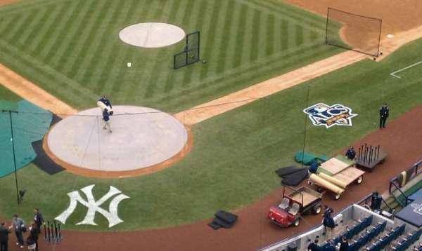 Yankee Stadium, section: 420a, row: 15, seat: 1