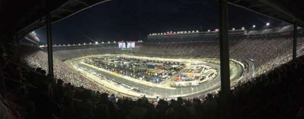 Bristol Motor Speedway, section: Pearson Tower F, row: 12, seat: 17