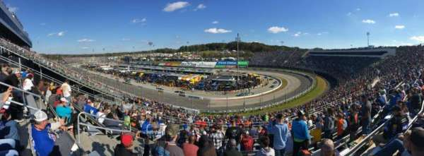 Martinsville Speedway, section: First Turn Tower AA, row: 37, seat: 17