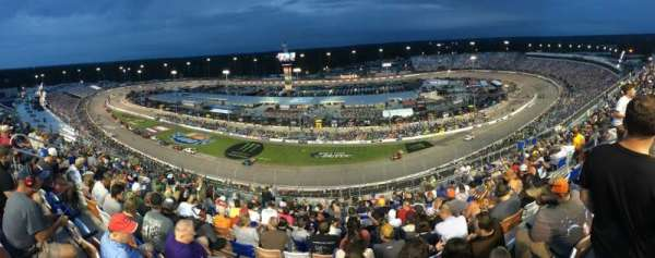 Richmond International Raceway, section: Comm Tower M, row: 17, seat: 11