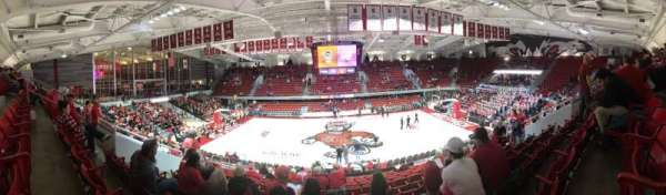 Reynolds Coliseum, section: 211, row: Q, seat: 9