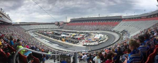 Bristol Motor Speedway, section: Pearson Tower F, row: 7, seat: 16