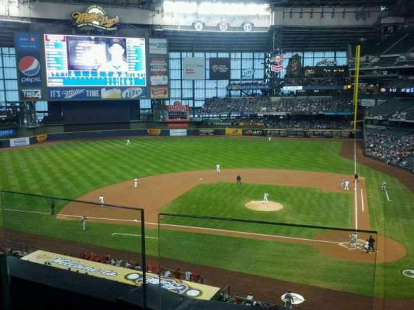 Miller Park, section: 335, row: 2, seat: 11