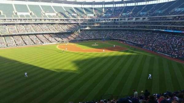 Progressive Field, section: 183, row: y, seat: 16