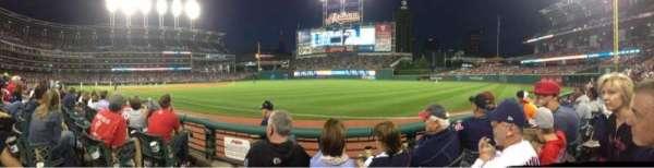 Progressive Field, section: 129, row: C, seat: 9
