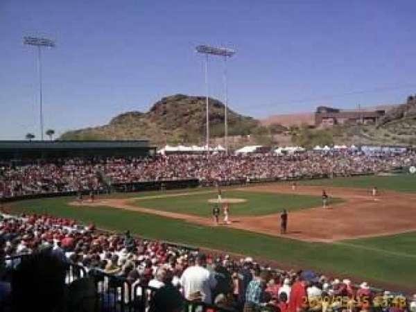 Tempe Diablo Stadium, section: 21