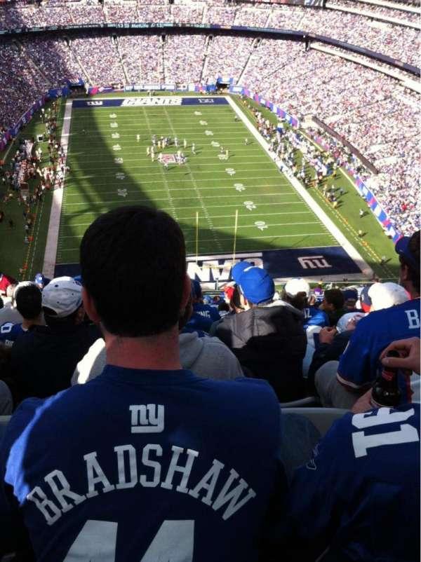 MetLife Stadium, section: 327, row: 21, seat: 18