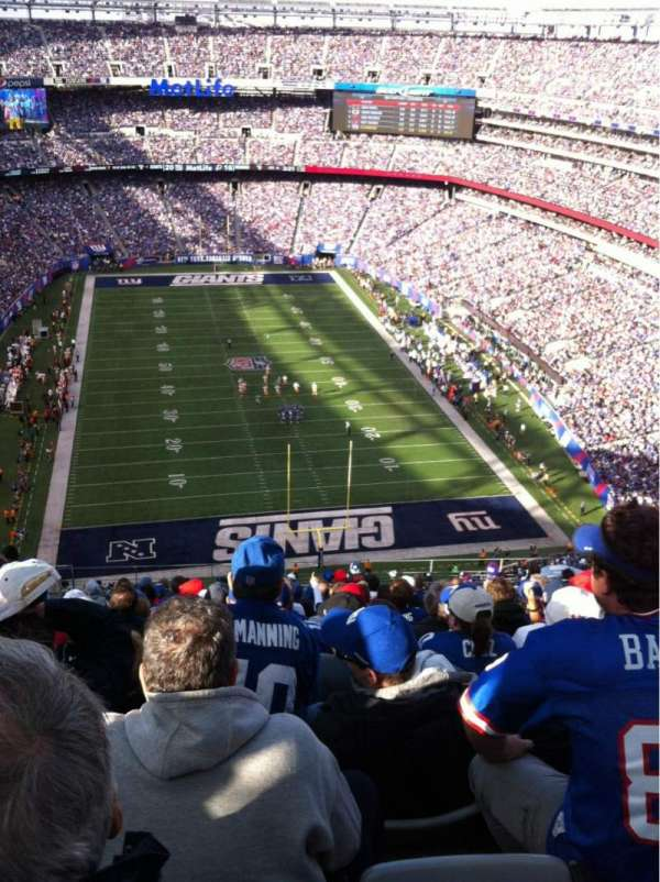 MetLife Stadium, section: 327, row: 21, seat: 18