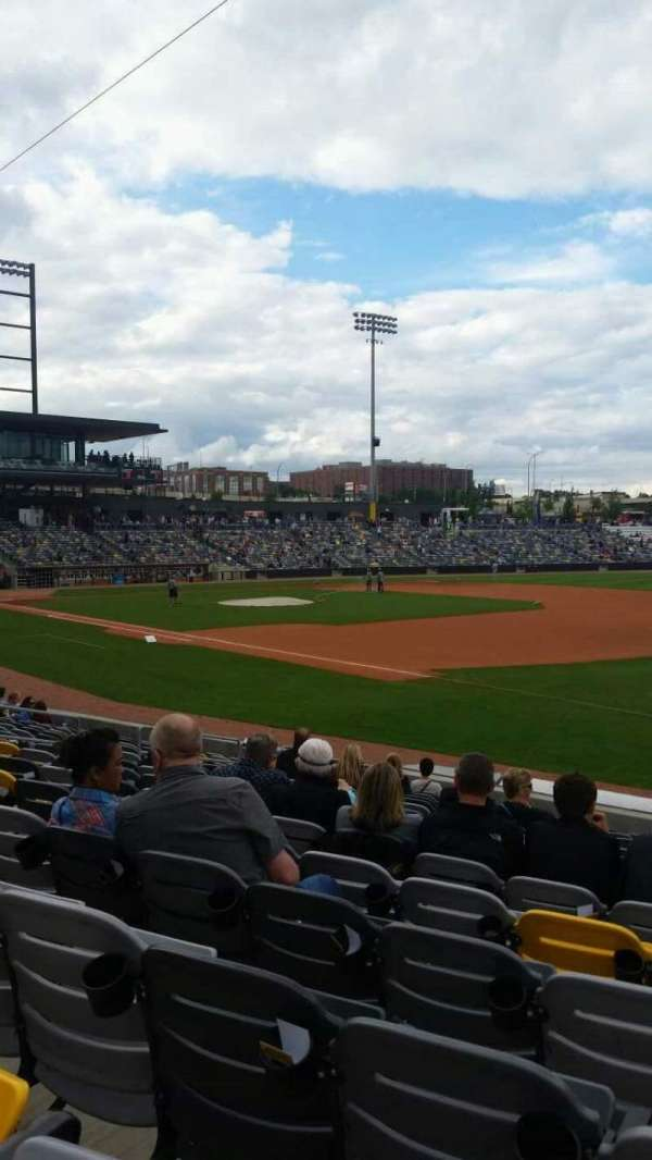 CHS Field, section: 102, row: 14, seat: 4