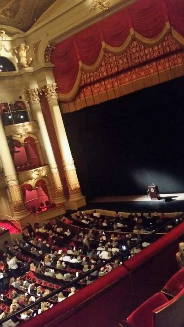 Academy of Music, section: Balcony C, row: a, seat: 26