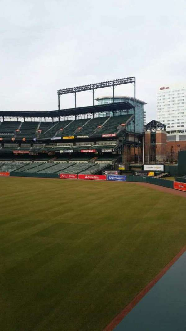 Oriole Park at Camden Yards, section: 8, row: 1