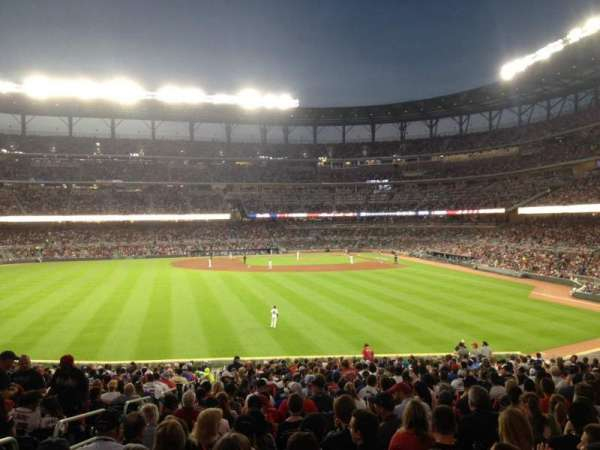 SunTrust Park, section: SRO