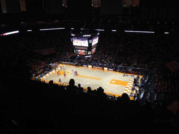 Thompson-Boling Arena, section: 318, row: 20, seat: 10