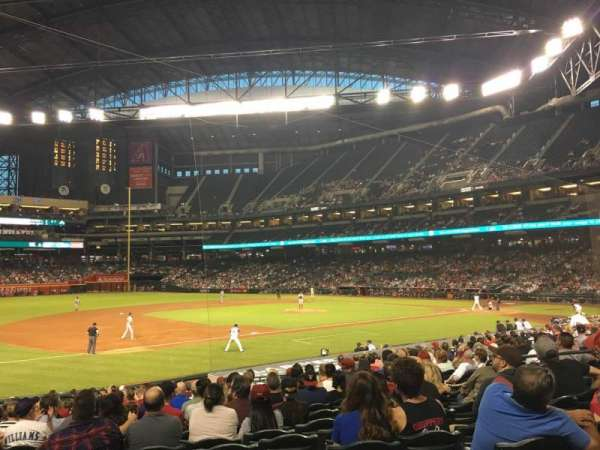 Chase Field, section: 130, row: 22, seat: 11