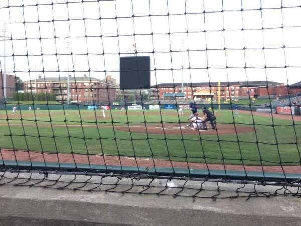 AutoZone Park, section: 104, row: A, seat: 6