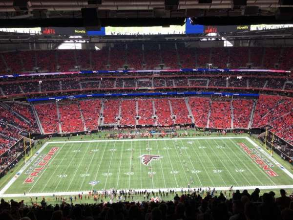 Mercedes-Benz Stadium, section: 340, row: 31, seat: 9