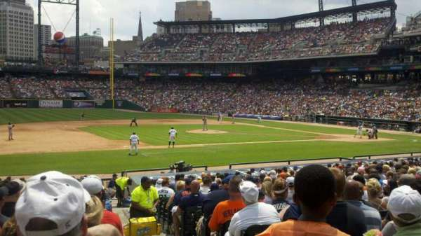 Comerica Park, section: 136, row: 29, seat: 1