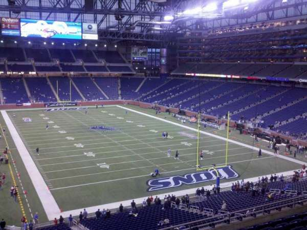 Ford Field, section: 216, row: 7, seat: 6