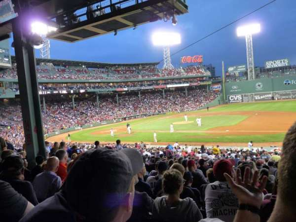 Fenway Park, section: Grandstand 14, row: 7, seat: 15