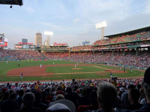 Fenway Park, section: Grandstand 26, row: 6, seat: 13