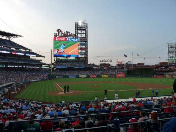Citizens Bank Park, section: 120, row: 22, seat: 11