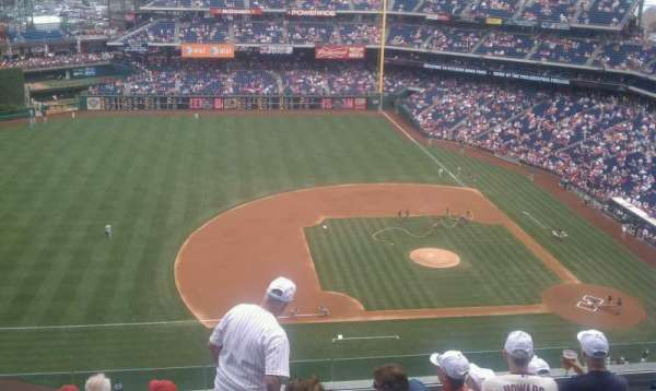 Citizens Bank Park, section: 427, row: 9, seat: 2