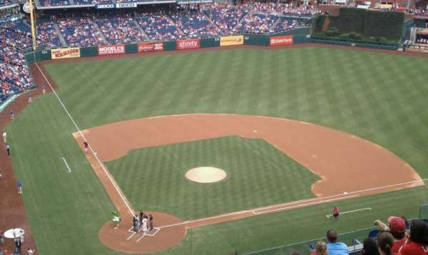 Citizens Bank Park, section: 418, row: 11, seat: 17